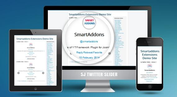 SJ Twitter Slider - Joomla! Module