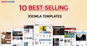 Top 10 Best-selling Joomla Templates - SmartAddons