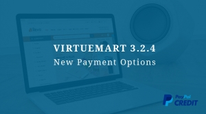 VirtueMart 3.2.4 Release with New Payment Options