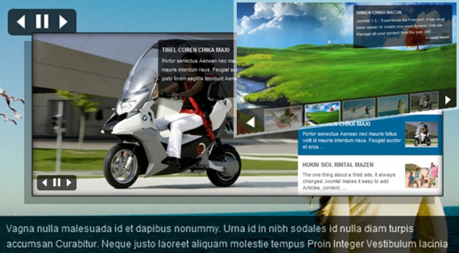 SJ Slideshow II for Zoo - Joomla! Module