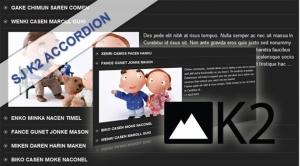 SJ K2 Accordion - Joomla! Module