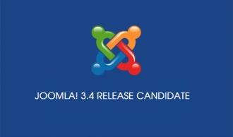 Joomla 3.4 Candidate Available