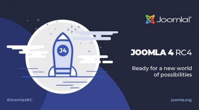 Joomla 4 RC 4 and Joomla 3.10 Alpha 9 Are Available