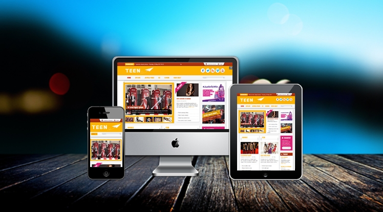SJ Teen - Responsive Joomla Template for youth age magazine