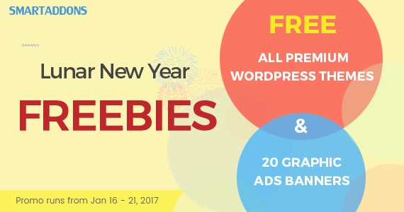 Special New Year Freebies: All Premium WordPress Themes & 20+ Graphic Ads Banners for FREE