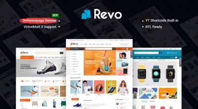 SJ Revo - A Clean & Delightful eCommerce VirtueMart 3 Template