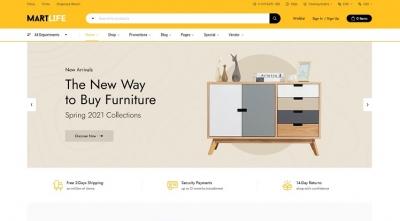 [PREVIEW] Sj MartLife - Modern eCommerce Joomla VirtueMart Template