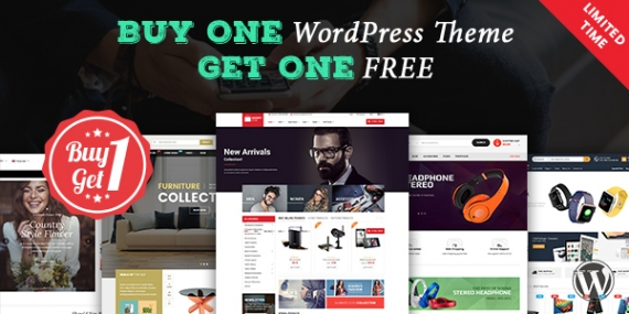 Buy One WordPress Theme, Get One FREE (Limited Time)