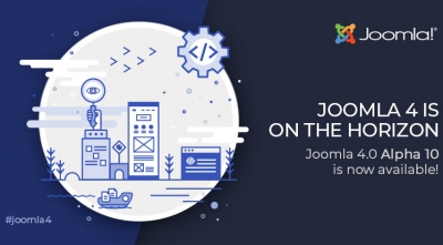 Joomla 4.0 Alpha 10 is Here