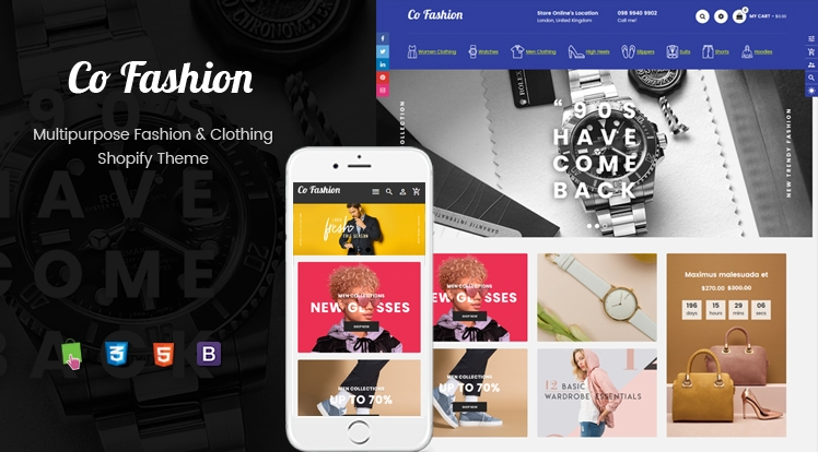 Ss CoFashion - Multipurpose Drag & Drop Fashion Shopify Theme
