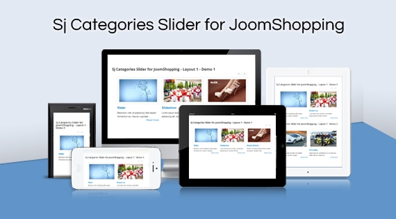 SJ Categories Slider for JoomShopping - Joomla! Module