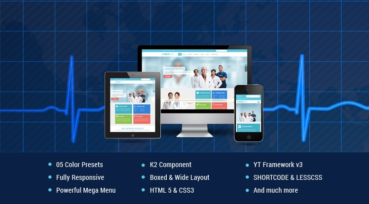 SJ Healthcare - Awesome Healthcare and Medical Joomla Templates