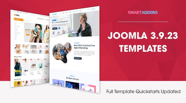 Joomla 3.9.23 Templates