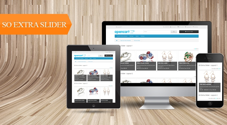So Extra Slider - Responsive OpenCart 3.0.x & OpenCart 2.x Module