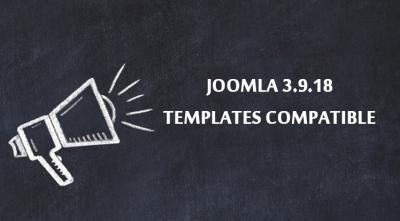 Joomla 3.9.18 Templates