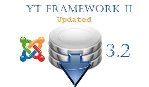 YT Framework Plugin updated for Joomla 3.2