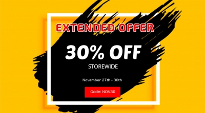 Black Friday Offer Extended for 4 Days