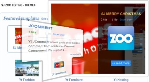 SJ Zoo Listing - Joomla! Module