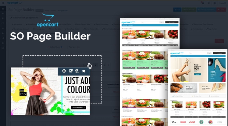 So Page Builder - Responsive OpenCart 3.0.x & 2.x Page Builder Module