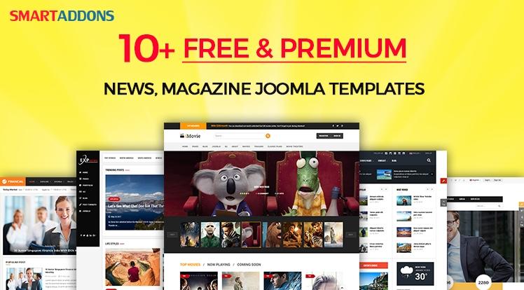 Top 10+ Awesome Free & Premium News, Magazine Joomla 3.7 Templates 2017