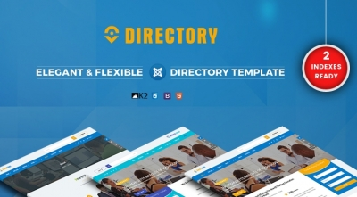 SJ Directory - A Simple Effective & Customizable Directory Joomla Template