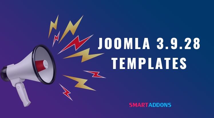 Joomla Templates Updated for Latest Joomla 3.9.28