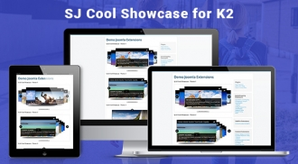 SJ Cool Showcase for K2 - Responsive Joomla! Module