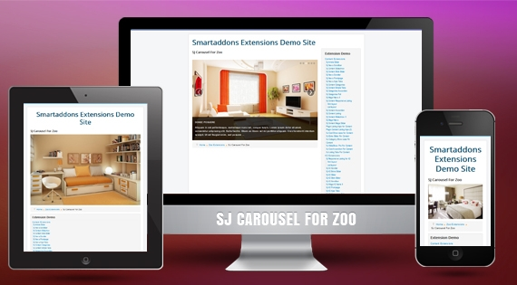 SJ Carousel for Zoo - Joomla! Module