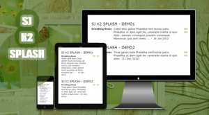 SJ K2 Splash - Responsive Joomla! Module