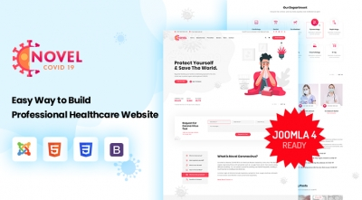 Sj Novel - Medical & Healthcare Joomla Template | 50% OFF Purchasing