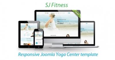 SJ Fitness - An Ideal Responsive Joomla Template for Yoga Club Center
