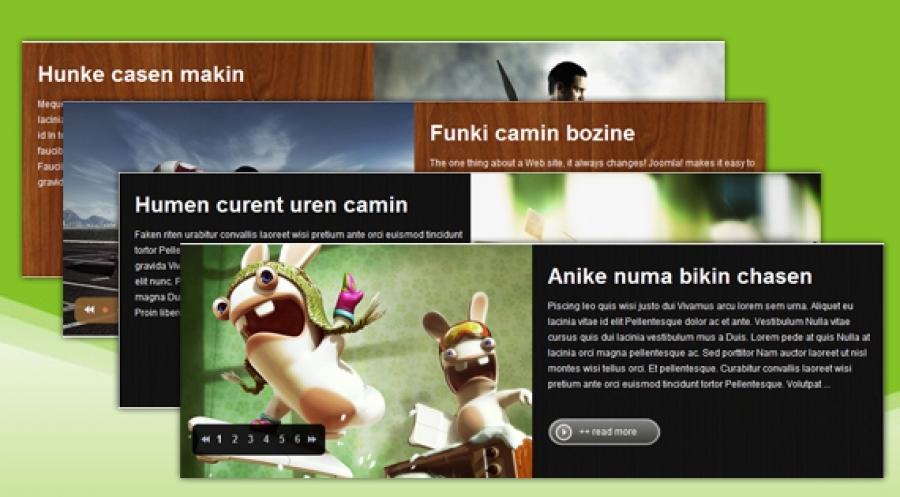 SJ Slick Slider for Zoo - Joomla! Module