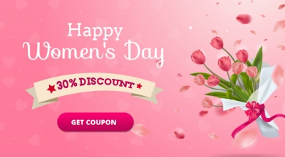 Happy Women's Day 2021! 30% Off All Products & Memberships
