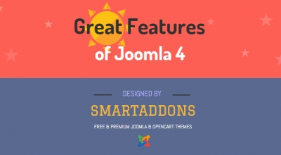 [Infographic] Great Features of Joomla 4