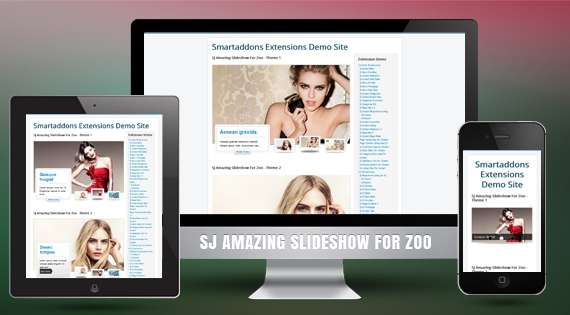 SJ Amazing Slideshow for Zoo - Joomla! Module