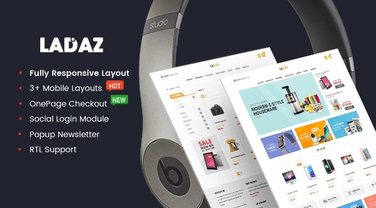 LadazPro - Advanced Multipurpose Responsive OpenCart Theme