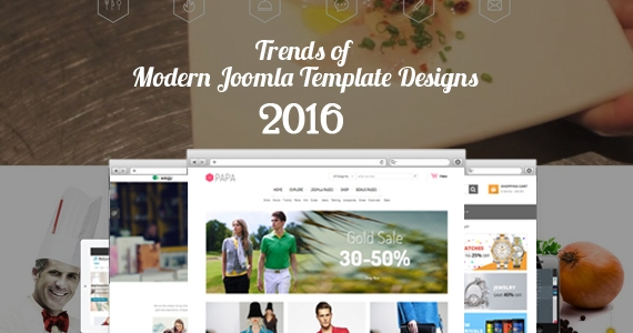 10 Trends of Modern Joomla Template Designs 2016