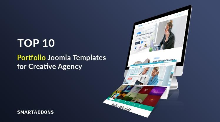 10 Best Portfolio Joomla Templates for Creative Agency in 2021
