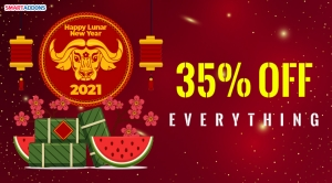 Lunar New Year 2021 Offer! 35% OFF on New Purchases & Renewals