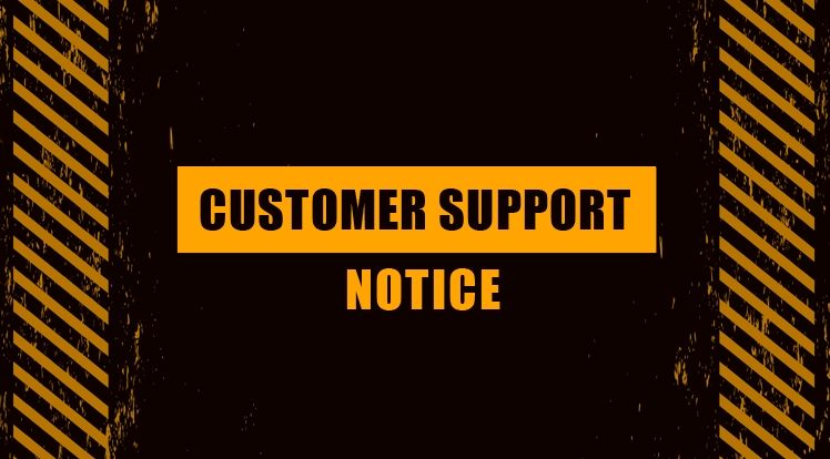 Customer Support Notice for Reunification & Labor Days 2021