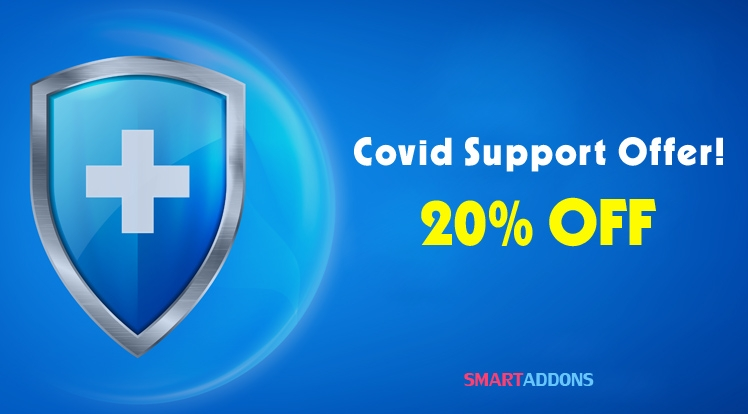 [SMARTADDONS] Covid Support Offer: 20% Off All Products & Memberships