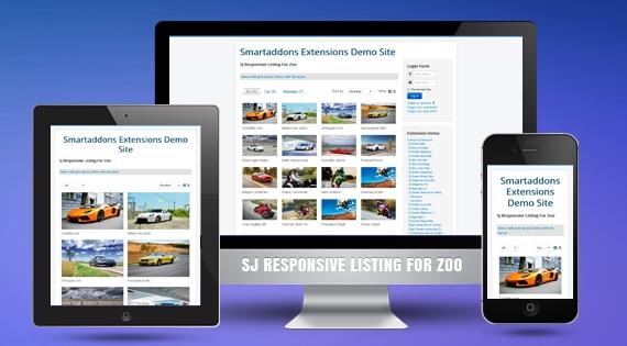 SJ Responsive Listing for Zoo - Joomla! Module