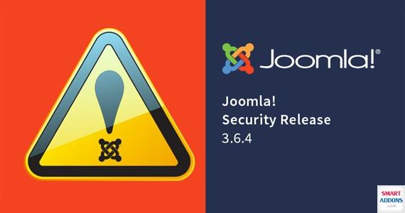 Joomla 3.6.4 Release: Security Updates & Bugs Fixes