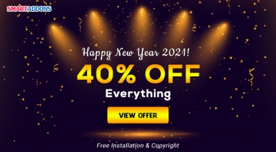 Happy New Year 2021! 40% OFF Storewide. Free Installation & Copyright Removal