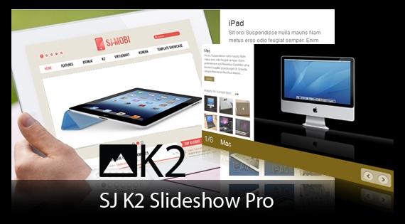 SJ Slideshow Pro for K2 - Joomla! Module