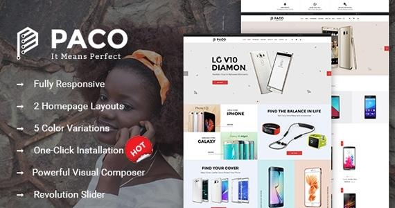 SW Paco - WooCommerce  Wordpress Digital Store Theme