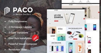 SW Paco - WooCommerce  Wordpress Digital Store Theme