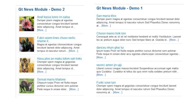 Gt News Module