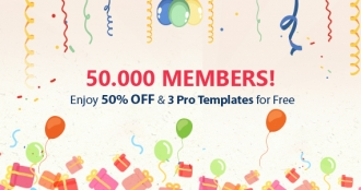 Celebrating 50,000 Members - Get Free Joomla Templates and 50% Off