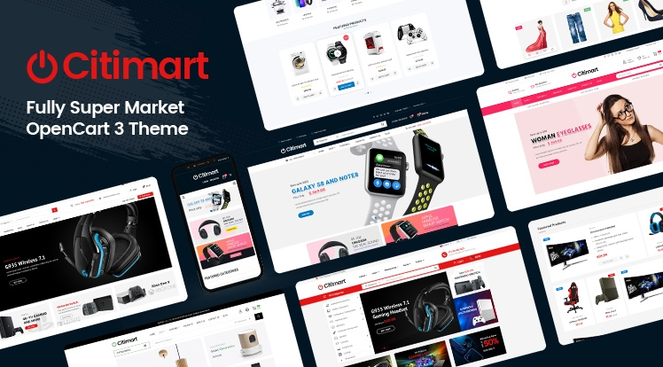 CitiMart - Fully Supermarket OpenCart 3.0.x Theme